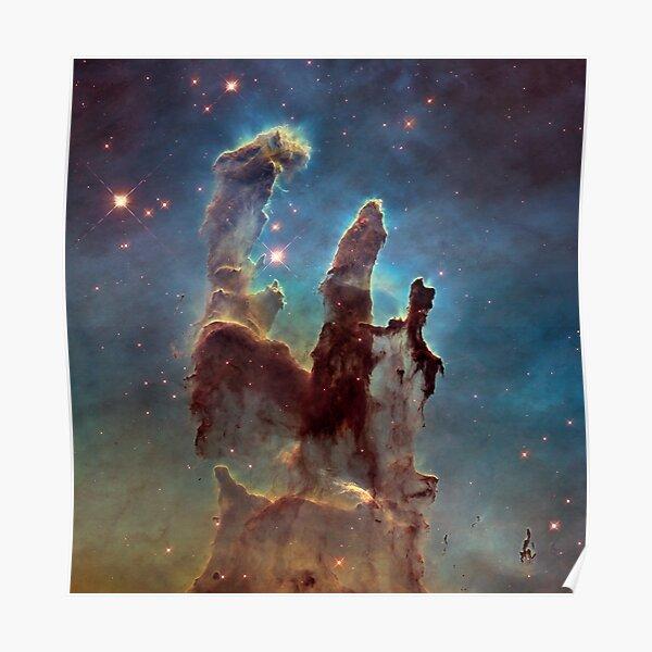 Eagle Nebula - The Pillars of Creation Poster