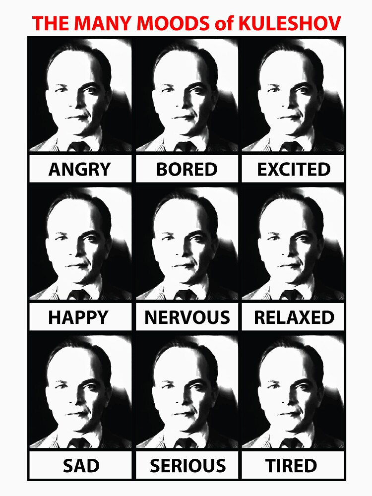 The Many Moods of Kuleshov by TheSixthBow
