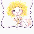 Just a Baby Mermaid and Her Merkitty - Blonde Version by LittleMissTyne