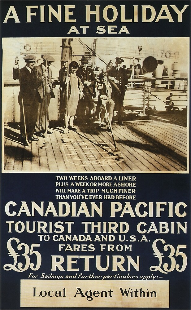 Vintage poster - Canadian Pacific by mosfunky