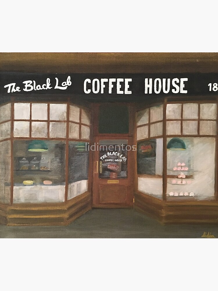 THE BLACK LAB COFFEE HOUSE by lidimentos