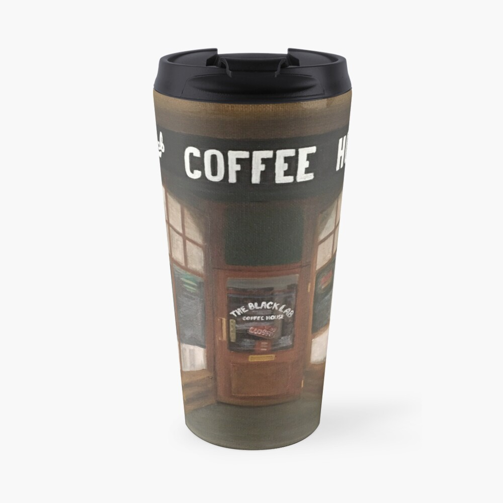 THE BLACK LAB COFFEE HOUSE Travel Mug