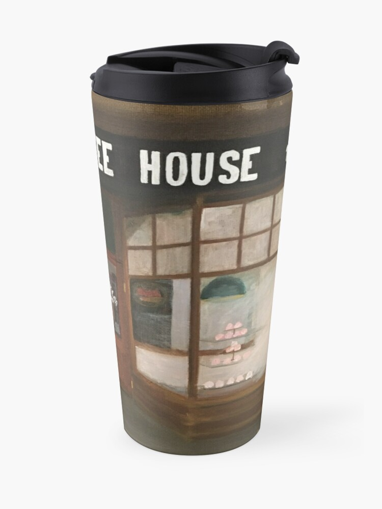 Alternate view of THE BLACK LAB COFFEE HOUSE Travel Mug