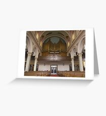 Roman Catholic catherdral Greeting Card