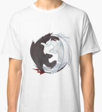 Toothless and the Light Fury Classic T-Shirt