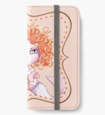 Just a Baby Mermaid and Her Merkitty - Red-Head Version iPhone Wallet/Case/Skin