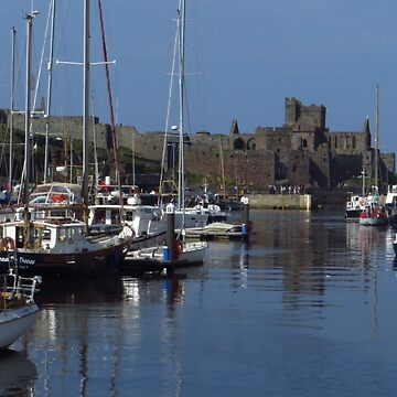 The Quay and Peel Castle by wiggyofipswich