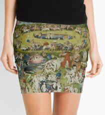 Garden of Earthly Delights Mini Skirt