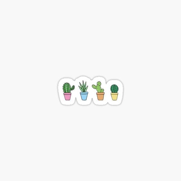 Simple Cacti Sticker