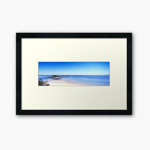 Green Island - South Coast, New South Wales Framed Art Print