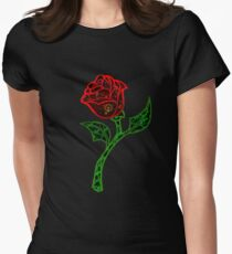 The Rose Women's Fitted T-Shirt