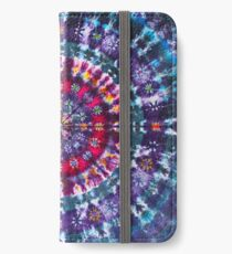 Tie-Dye Fieberhaft iPhone Flip-Case/Hülle/Klebefolie