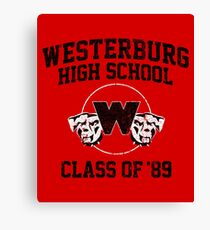 Westerburg High Class of '89 (Heathers) Canvas Print