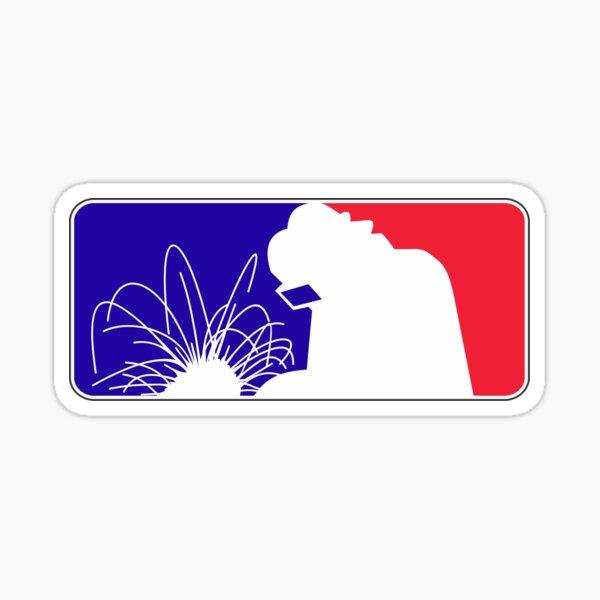 Welder league  Sticker