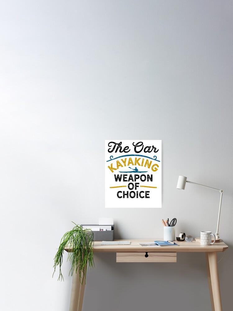 D Kayaks Art Print Home Decor Wall Art Poster