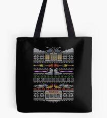 Back to the Future Christmas Tote Bag