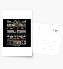Back to the Future Christmas Postcards