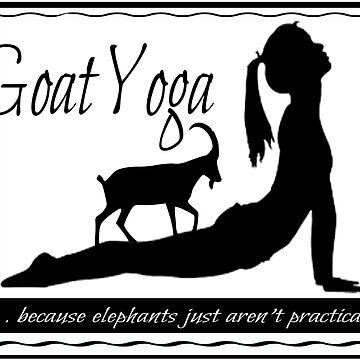 GOAT YOGA by dragonindenver