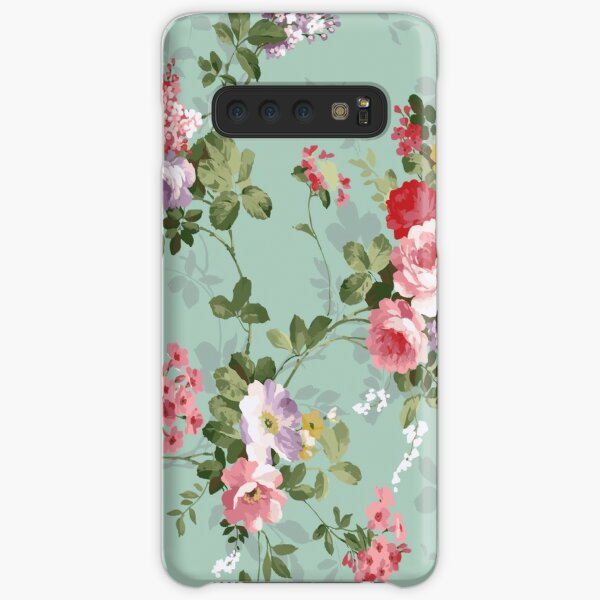 Victorian floral pattern 1 Samsung Galaxy Snap Case