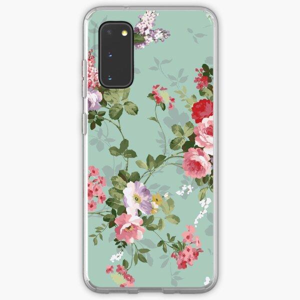 Victorian floral pattern 1 Samsung Galaxy Soft Case