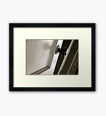 Open Framed Print