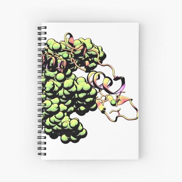 Pop Zinc Finger, green Spiral Notebook