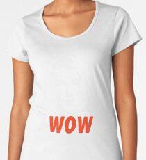 Camiseta premium para mujer Guau. Es Owen Wilson.
