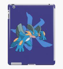 Swampert With Water Kanji iPad Case/Skin