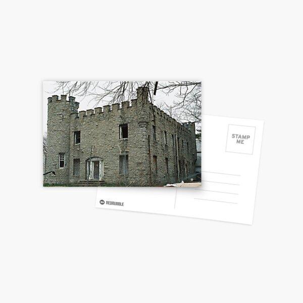 Abandoned castle Postcard