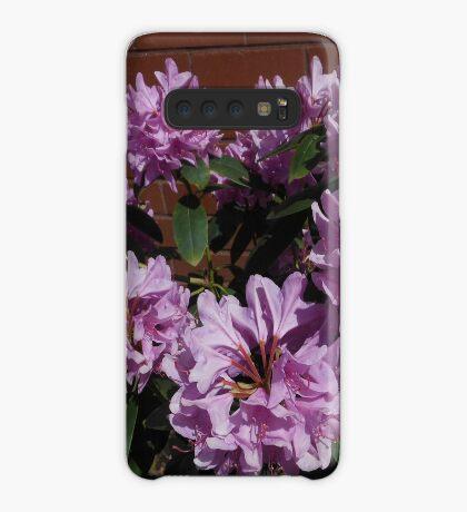 Rhododendron genießt den Sonnenschein Hülle & Klebefolie für Samsung Galaxy