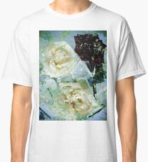 Grunge roses Classic T-Shirt