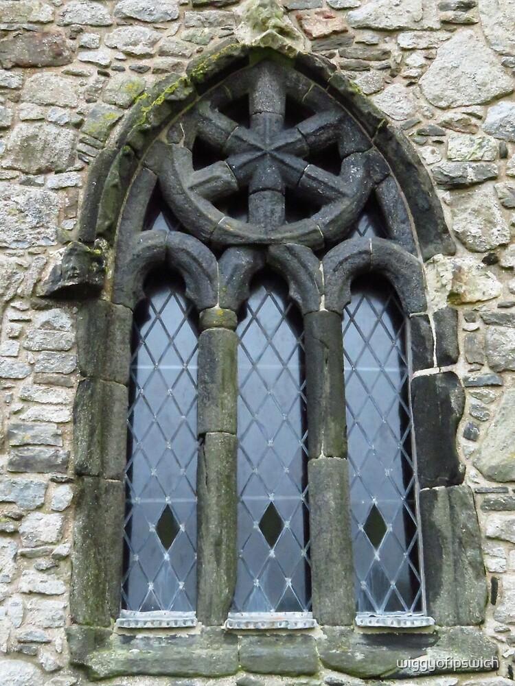 St Clement's Church Window, Rodel, Harris by wiggyofipswich