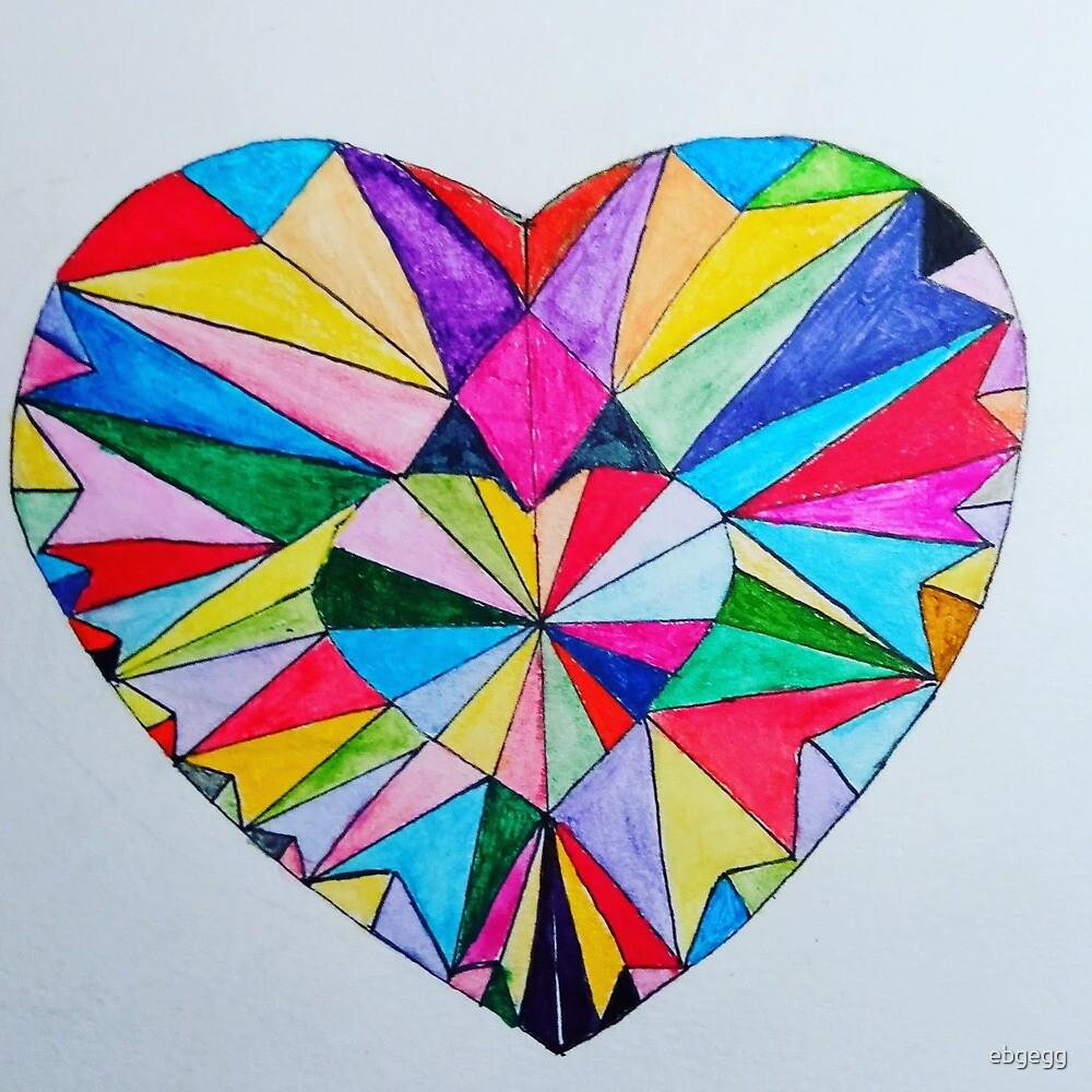 Crystal heart by ebgegg