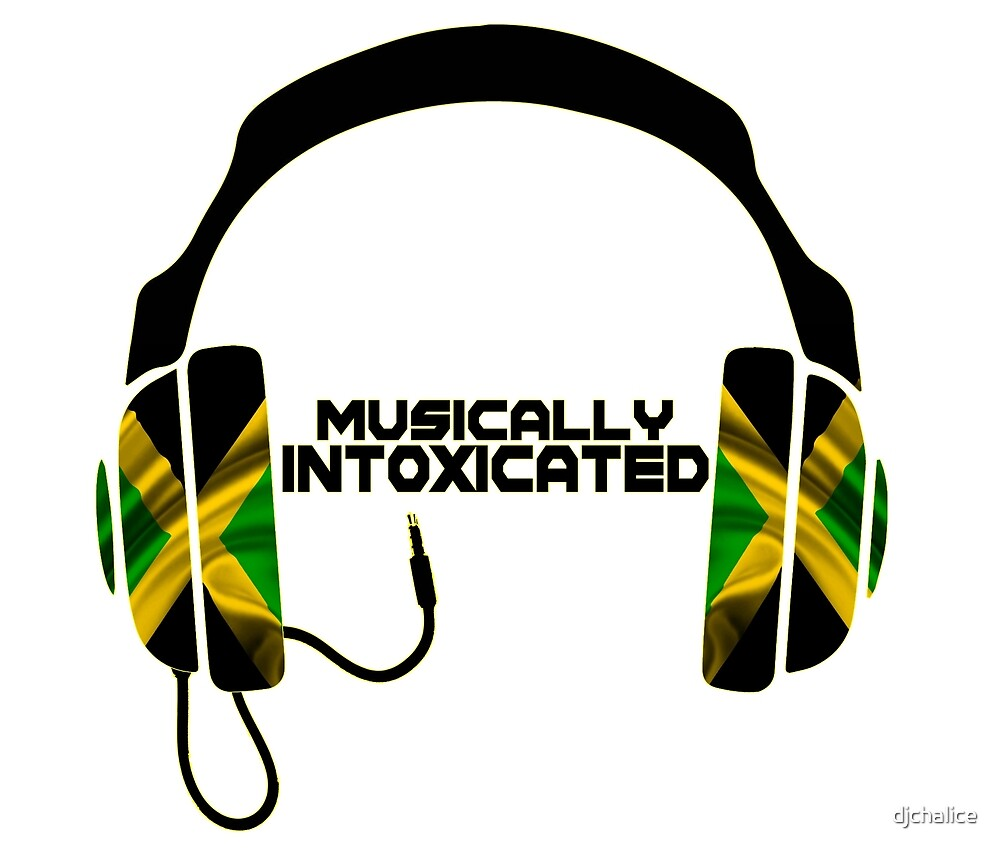 Musically Intoxicated (Black) by djchalice