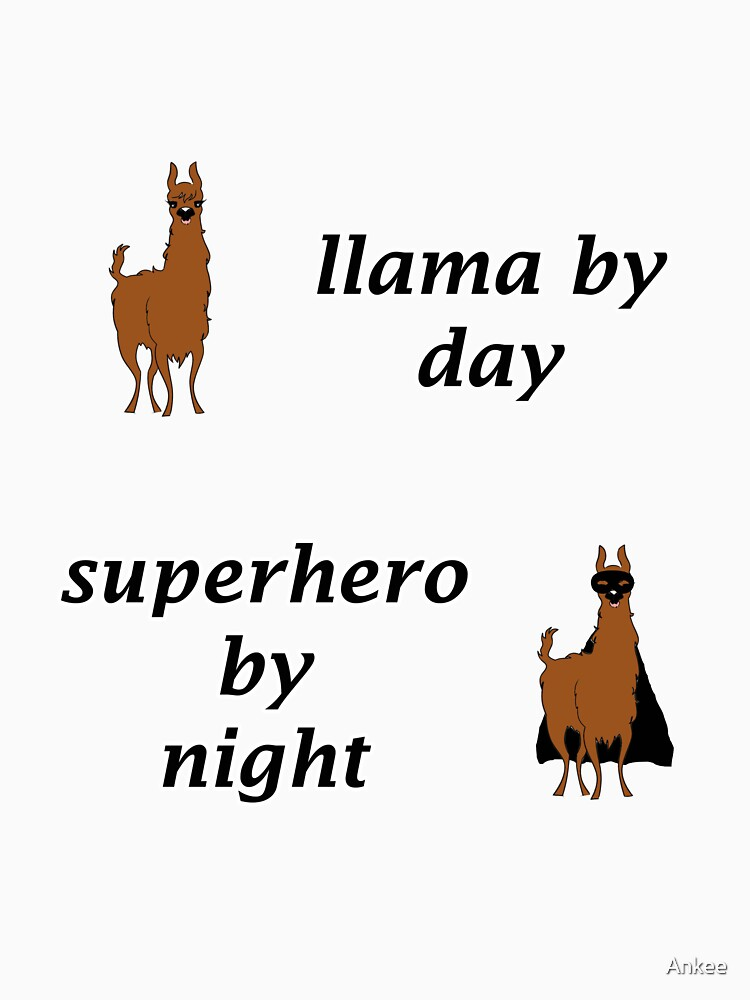Llama hero by Ankee