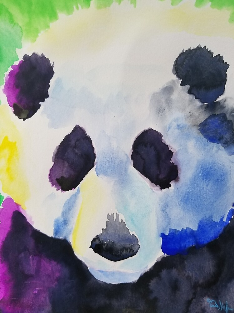 Purple Panda of Peace by JurassicParkans