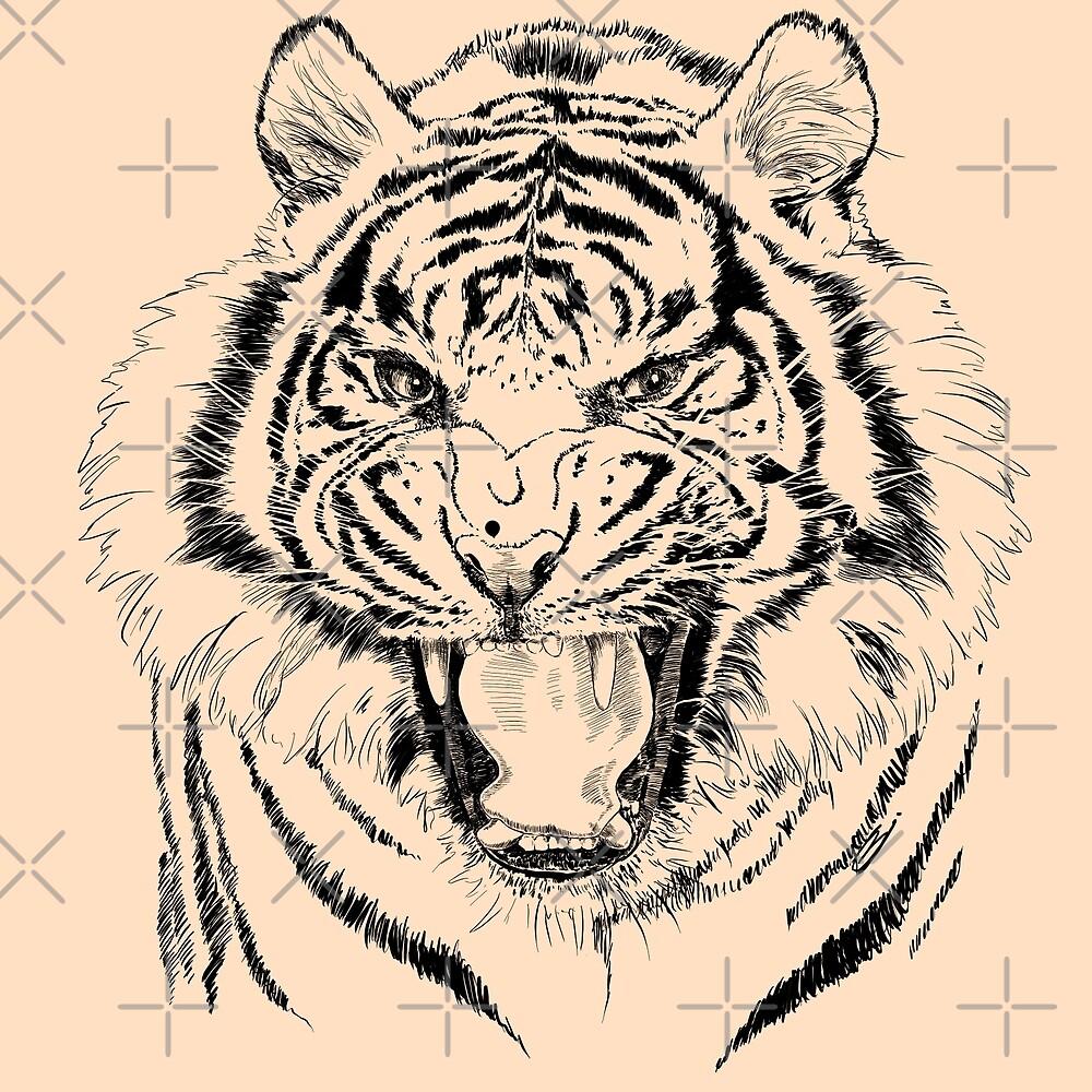 tiger by Sibo Miller