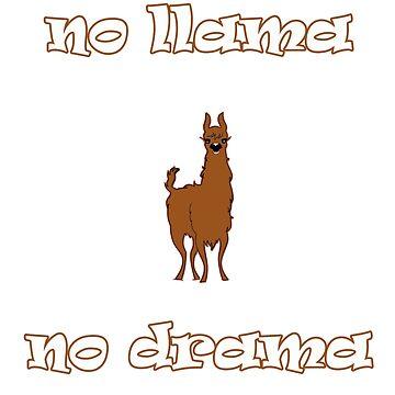 No llama no drama by Ankee