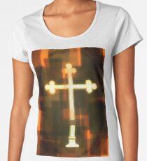 Golden Cross Women's Premium T-Shirt
