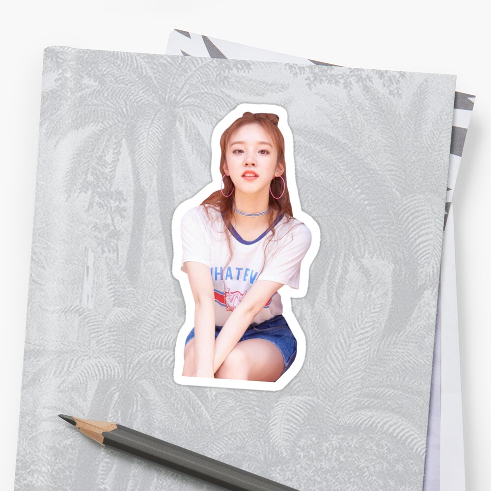 (G)-IDLE Song Yuqi Sticker by euphoricjk