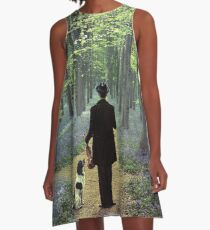 Second Fiddle A-Line Dress