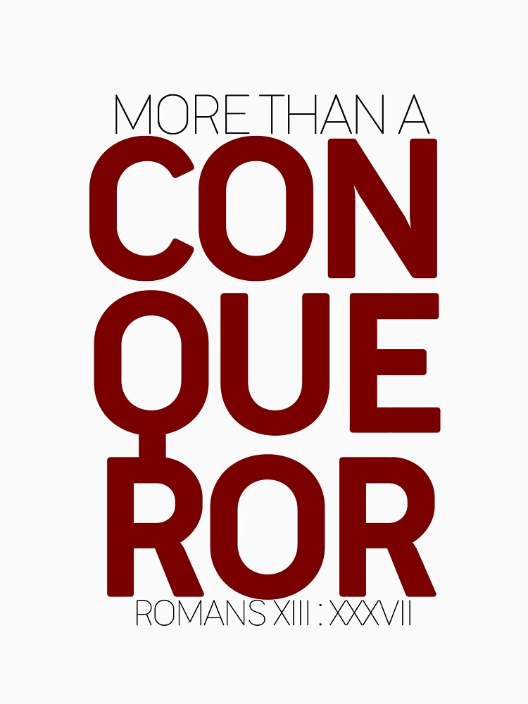 More Than A Conqueror by hecolors