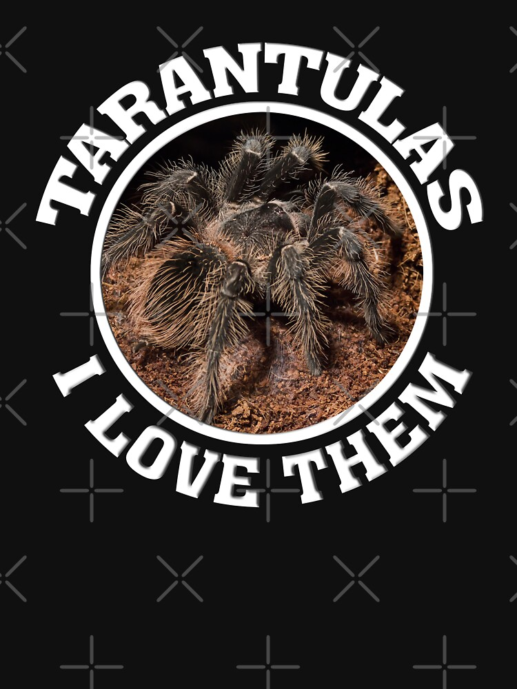 Tarantulas - I love them by Vectorbrusher