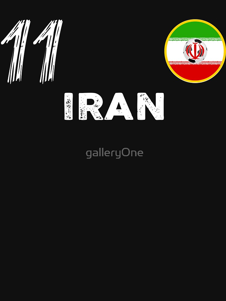 Iran #11 World Cup Shirt Football Kit For Russia 2018 Iranian National Team Store Soccer Jersey For Fans Of The Princes Of Persia by galleryOne