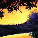 """The Burr Oak"" Watercolor, Paul Jackson by Paul Jackson"
