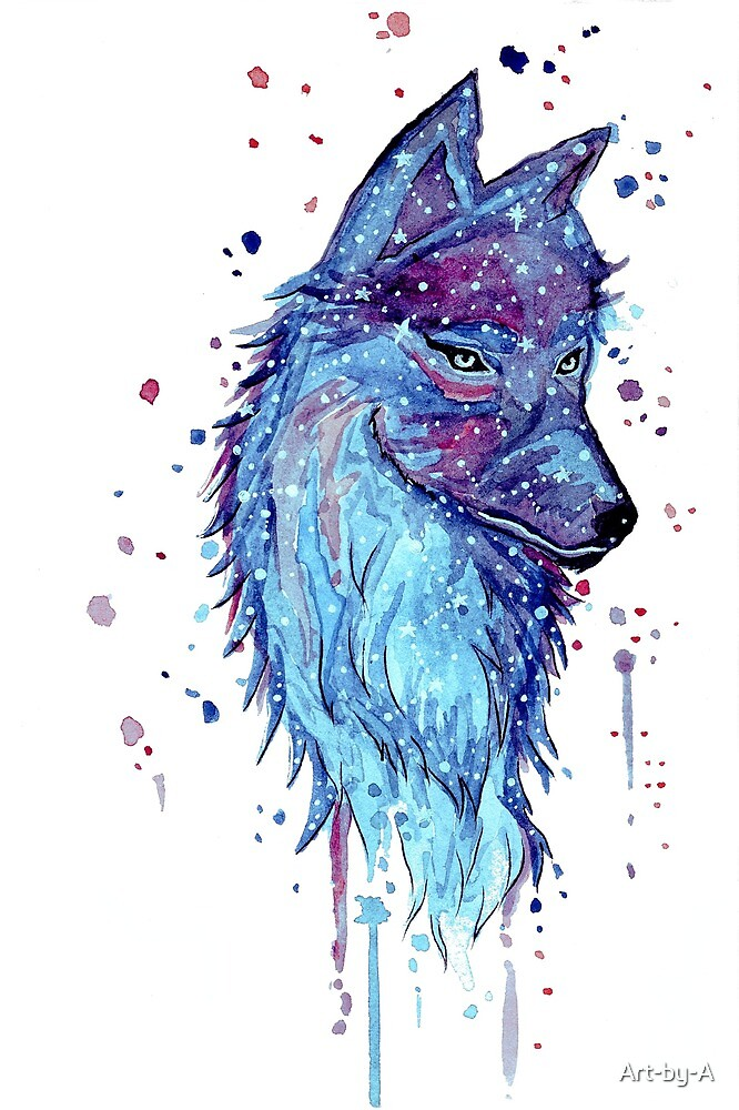 Arctic Wolf by Art-by-A