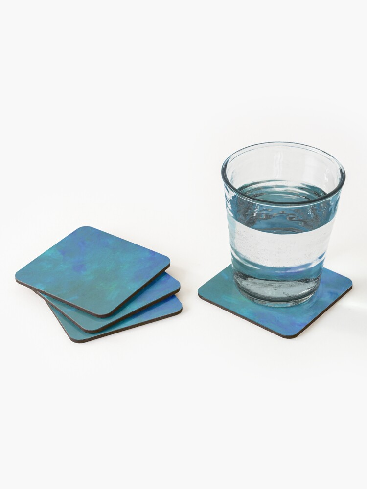 Alternate view of Phthalo Blend Coasters (Set of 4)