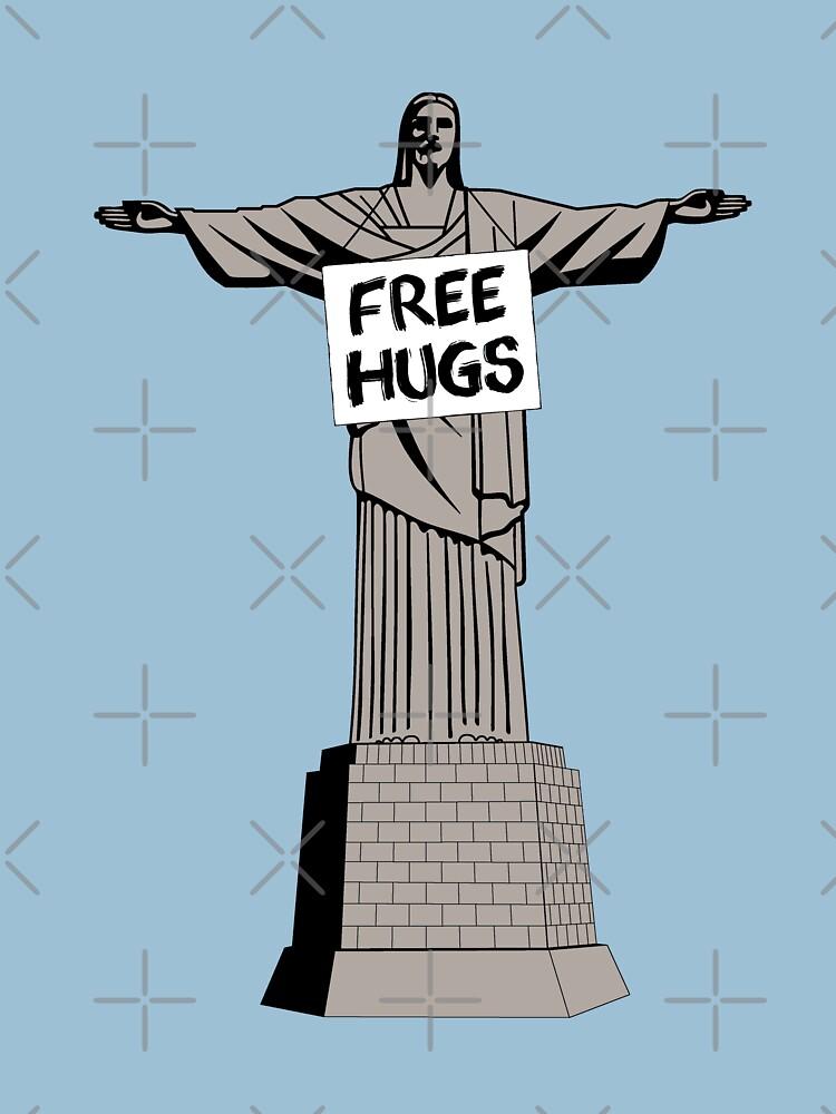 Christ Free Hugs by Lanfa