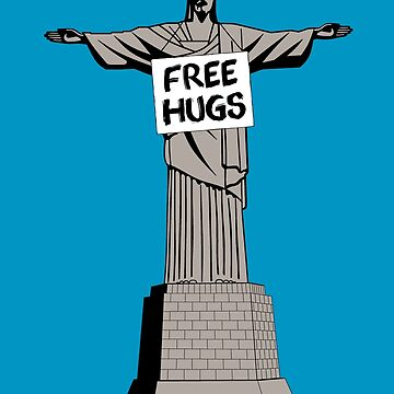 Christ Free Hugs by Lanfa