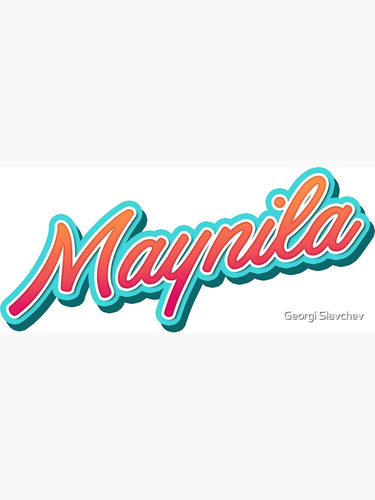 Maynila Typo flp by divotomezove